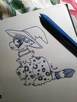 The Witch's Hat [Inktober 2018 Day 14] by Geo-Dragon