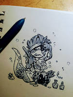 Potions and Spells [Inktober 2018 Day 15] by Geo-Dragon