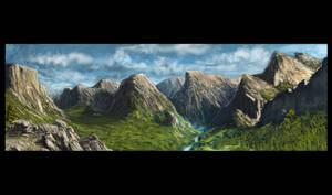 A Landscape by truehorror666
