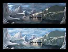 Ice Landscape by truehorror666