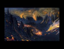 Lava world by truehorror666