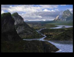 rock matte painting by truehorror666
