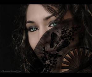asian beauty by zippyrux