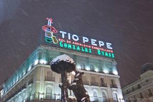 Puerta del Sol in the winter by naturtrunken