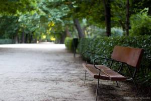 Bench in the Retiro by naturtrunken