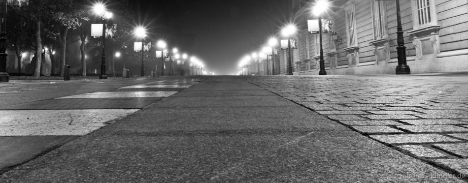 Street at night by naturtrunken