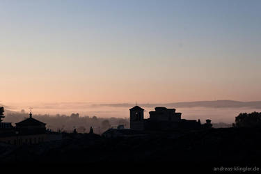 Silhouette of Toledo by naturtrunken
