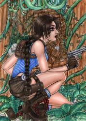 +Lara Croft+ by MaliciousMisery