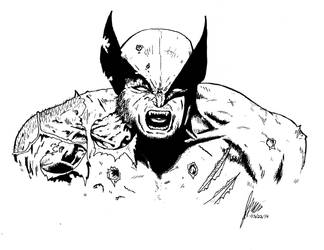 Wolverine by JordanWilliamsArt