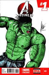 Hulk by JordanWilliamsArt