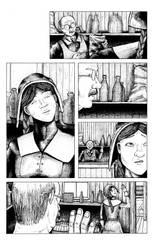 Gunpowder Witch #1 - Page 12 (Inks) by JordanWilliamsArt