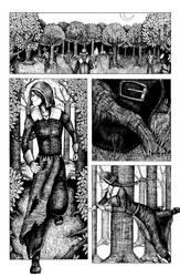 Gunpowder Witch #1 - Page 24 (Inks) by JordanWilliamsArt