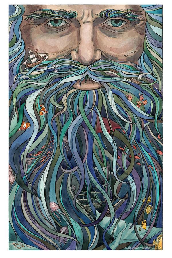 The Old man Ocean by CoalRye