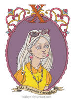 Luna Lovegood by CoalRye