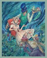 Tea-Party by CoalRye