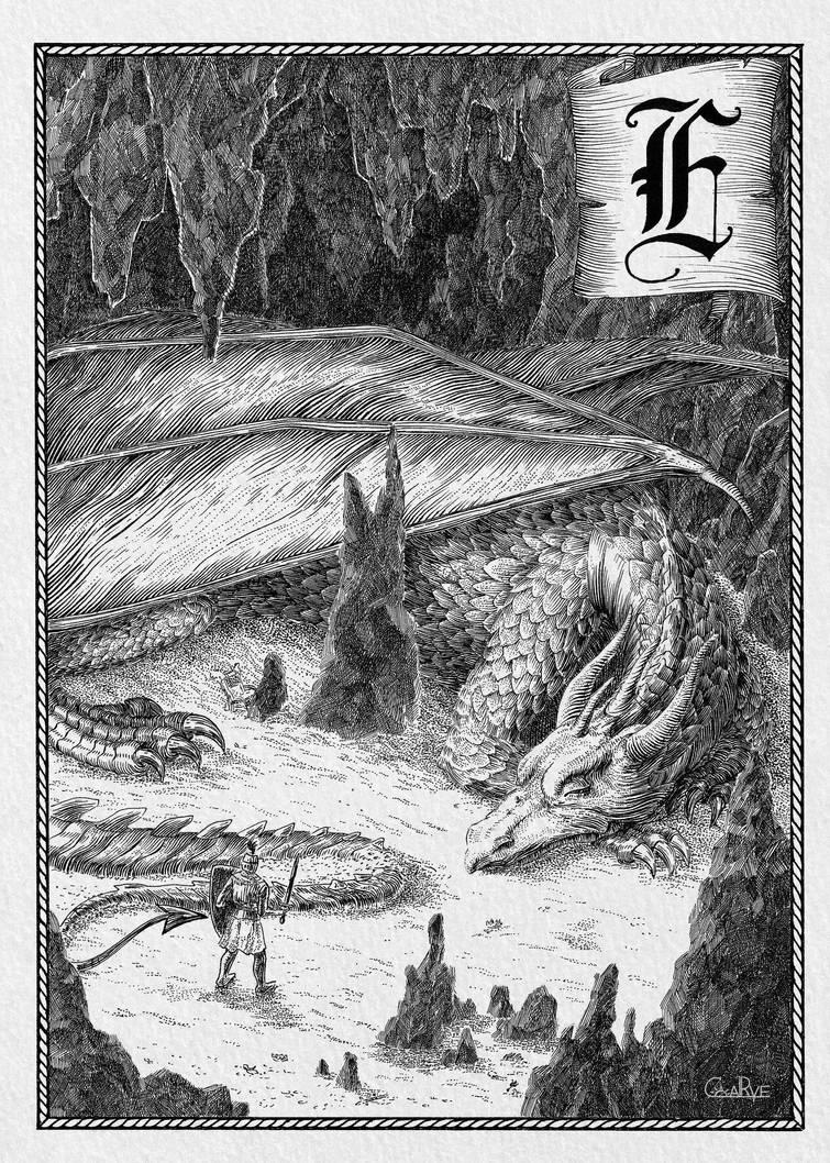 European Dragon by CoalRye