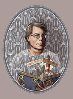 Stephen King by CoalRye