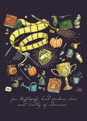 Hufflepuff by CoalRye