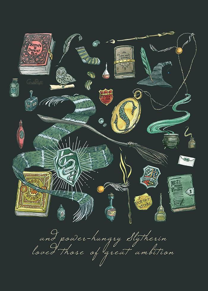 Slytherin by CoalRye