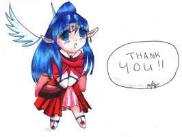 Anaiya: Thanks for the COLOR by Kokitsune-Koyuki