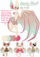 [OTA] Frosty Heart Batty Babe ((CLOSED)) by birdieweed