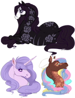 ~SweetPonies~ by birdieweed