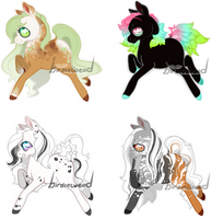 Sweet Horsies 1 (( CLOSED )) by birdieweed