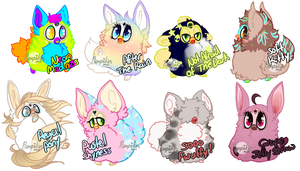 Blast from the Past - Furby Adopts (( CLOSED )) by birdieweed
