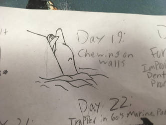 Day 19: Chewing On Walls by the-sketchy-orca