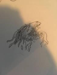 Slobbery hound by the-sketchy-orca