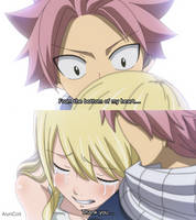 Fairy Tail 545 - Natsu and Lucy. by AlynColt