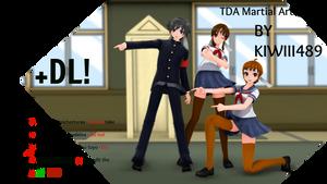 [MMDxYS] :: TDA Martial Arts +DL :: by XutsukushiX