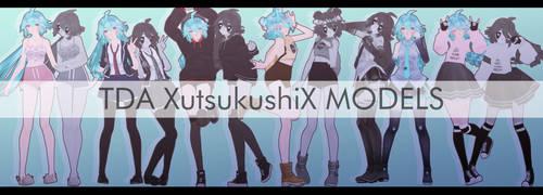 - (MMD) . TDA UTSUKUSHI + DL (ESPECIAL +600) - by XutsukushiX