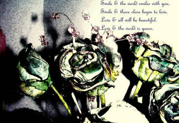 Smile and Love by neongenesis-endsong