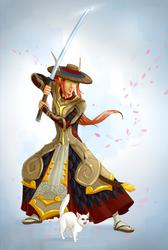 Blood elf Ronin by szienna