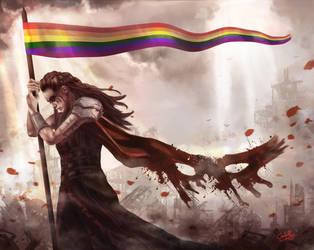 Rainbow Warrior by GLPing