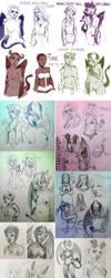 Succubi Sketch Dump by n4ut