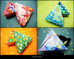 Origami Boxes by kittyx3