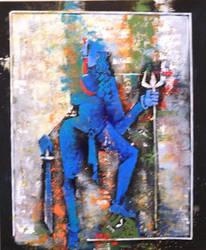 Goddess Kali by vishalmisra