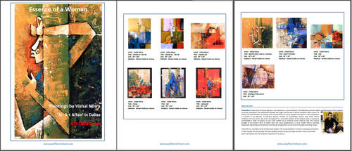Art catalogue by vishalmisra