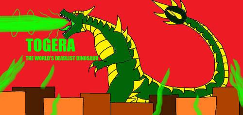 Togera The World's Deadliest Dinosaur! by Syfyman2XXX