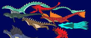 EG Kaiju Water Kaiju by Syfyman2XXX
