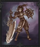 Warrior Tribu Fantasy Earth by axelalonso