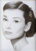 Audrey Hepburn by JonMckenzie
