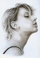 Scarlet Johansson Portrait by JonMckenzie