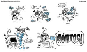 COMICS by PacoAfroMonkey