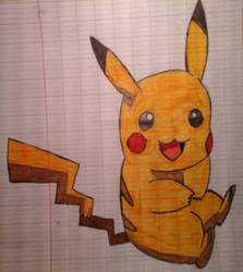 Pikachu drawing by DrBlagueur