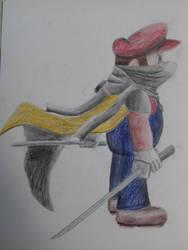 Ninja Mario by DrBlagueur