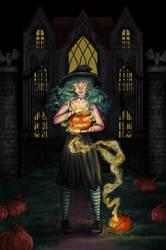 Happy Halloween :D by Claudie-G