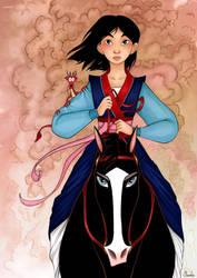 Mulan by Claudie-G
